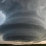 storm supercell clouds