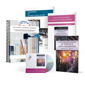 ASPC bundle with textbook, resource CD, Solutions Manual, Experiments, and optional Student Report Handbook