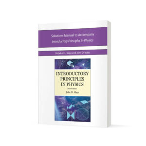 Solutions Manual for Introductory Principles in Physics textbook cover