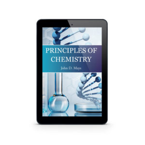 Principles of Chemistry ebook cover