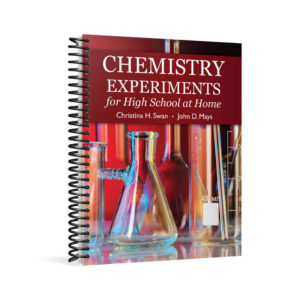 Chemistry Experiments for High School at Home textbook cover